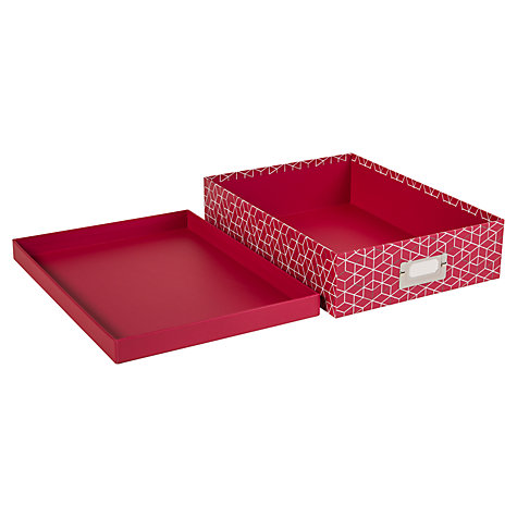 Buy House by John Lewis Box File Online at johnlewis.com