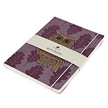 Buy Go Stationery Owl Craft A5 Notebook Online at johnlewis.com