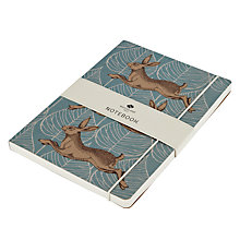Buy Go Stationery Hares Craft A5 Notebook Online at johnlewis.com