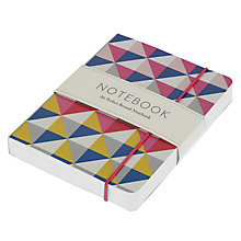 Buy Go Stationery Bright Geo A6 Notebook Online at johnlewis.com