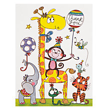 Buy Rachel Ellen Giraffe Thank You, Pack of 5 Online at johnlewis.com