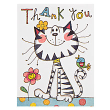 Buy Rachel Ellen Cat Thank You, Pack of 5 Online at johnlewis.com