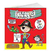Buy Rachel Ellen Pirate Colouring Book Online at johnlewis.com