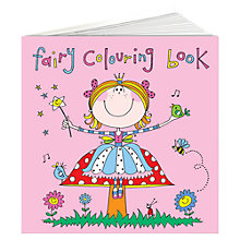 Buy Rachel Ellen Fairy Colouring Book Online at johnlewis.com