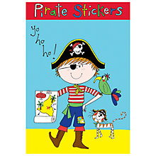 Buy Rachel Ellen Pirate Stickers and Notebook Online at johnlewis.com