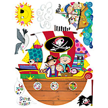 Buy Rachel Ellen Pirate Wall Stickers Online at johnlewis.com