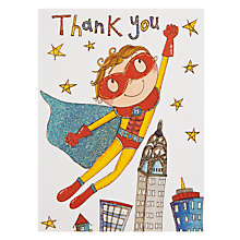 Buy Rachel Ellen Superhero Thank You, Pack of 5 Online at johnlewis.com