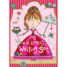 Buy Rachel Ellen Lovely Writing Set Online at johnlewis.com