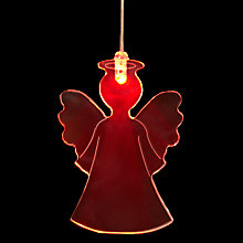 Buy John Lewis Angel LED Window Light Online at johnlewis.com