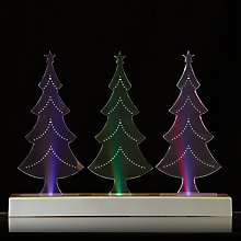 Buy John Lewis Morphing Triple Tree Decoration Online at johnlewis.com