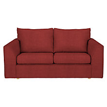 Buy John Lewis Jacob Medium Sofa Bed, Bowden Cranberry Online at johnlewis.com