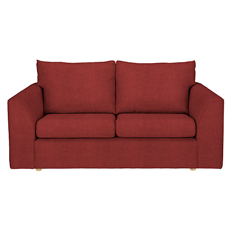 Buy john lewis jacob medium sofa bed bowden cranberry for Sofa bed john lewis