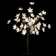 Buy John Lewis Tabletop Blossom Tree, White Online at johnlewis.com