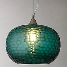 Buy John Lewis Ophira Glass Ceiling Light, Natural Online at johnlewis.com