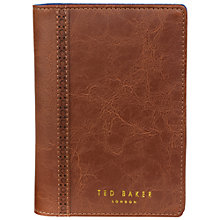 Buy Ted Baker Brogue Travel Wallet and Pen Online at johnlewis.com