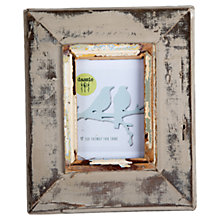 "Buy Dassie Rustic Frame, Putty, 4 x 6"" Online at johnlewis.com"