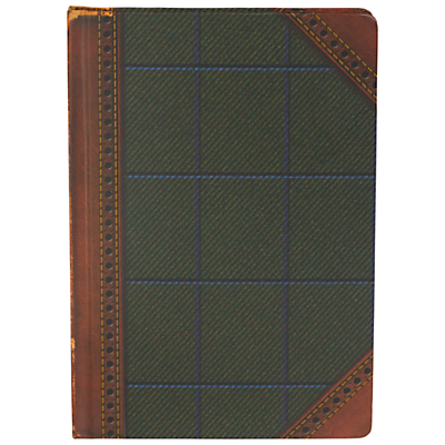 Ted Baker A5 Tweed Notebook, Multi