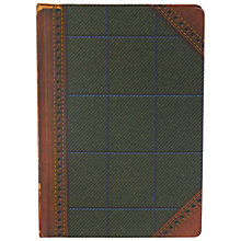 Buy Ted Baker A5 Tweed Notebook, Multi Online at johnlewis.com