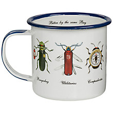 Buy Ted Baker Bug Enamel Mug Online at johnlewis.com