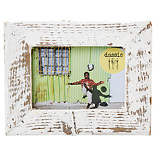 "Buy Dassie Mini Rustic Frame, White, 3.5 x 5"" Online at johnlewis.com"