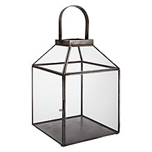 Buy John Lewis Antique Zinc Covered Lantern Online at johnlewis.com