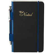 Buy Ted Baker Well Noted A6 Notebook with Pen Online at johnlewis.com