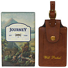 Buy Ted Baker Brogue Luggage Tag Online at johnlewis.com