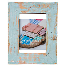"Buy Dassie Mini Rustic Frame, Duck Egg, 3.5 x 5"" Online at johnlewis.com"