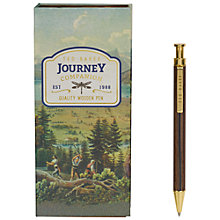 Buy Ted Baker Wooden Ballpoint Pen Online at johnlewis.com