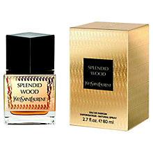 Buy Yves Saint Laurent Splendid Wood Eau De Parfum, 80ml Online at johnlewis.com