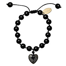 Buy Lola Rose Black Agate Millie Bracelet Online at johnlewis.com