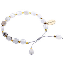 Buy Lola Rose Erskine White Agate Bracelet, White Online at johnlewis.com