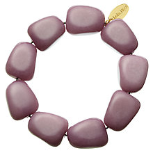 Buy Lola Rose Oscy Quartzite Bracelet, Elderberry Online at johnlewis.com