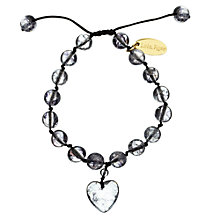Buy Lola Rose Black Rock Crystal Millie Bracelet Online at johnlewis.com