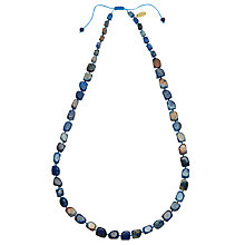 Buy Lola Rose Stacey Fossil Jasper Necklace, Blue Online at johnlewis.com