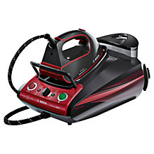 Buy Bosch TDS3771GB Sensixx Steam Generator Iron, Black Online at johnlewis.com