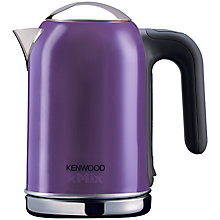 Buy Kenwood kMix Kettle & 2-Slice Toaster, Purple Online at johnlewis.com