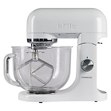 Buy Kenwood kMix KMX050G Stand Mixer, White Online at johnlewis.com