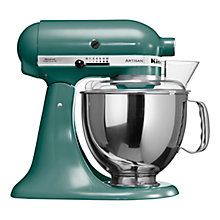 Buy KitchenAid Artisan Stand Mixer, Bayleaf Online at johnlewis.com