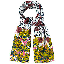Buy White Stuff Paradise Border Scarf, Multi Online at johnlewis.com