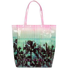 Buy Ted Baker Digicon Printed Icon Shopper Bag, Light Pink Online at johnlewis.com