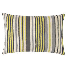Buy John Lewis Rhythm Crewel Stripe Cushion Online at johnlewis.com