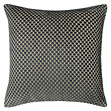 Buy John Lewis Mini Spot Cushion, Steel Online at johnlewis.com
