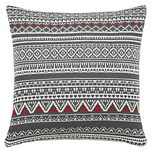 Buy John Lewis Fair Isle Knit Cushion Online at johnlewis.com