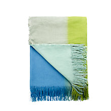 Buy Designers Guild Samarinda Throw, Oasis Online at johnlewis.com