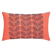 Buy John Lewis Linear Leaf Cushion Online at johnlewis.com