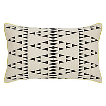 Buy John Lewis Diamond Pyramids Cushion Online at johnlewis.com