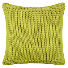 Buy John Lewis Chunky Knit Cushion Online at johnlewis.com
