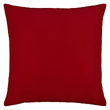 Buy John Lewis Silk / Linen Cushion Online at johnlewis.com