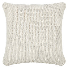 Buy John Lewis Moss Stitch Cushion Online at johnlewis.com